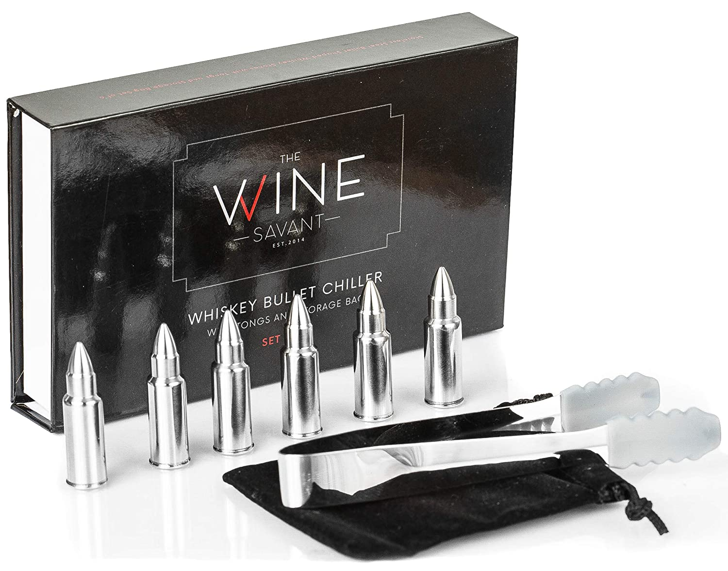 Whiskey Stones Bullets Stainless Steel Bullet Chillers Set Of 6 Circuit Scribe Conductive Ink Basic Kit Electroninks Cskitbasic The Wine Savant