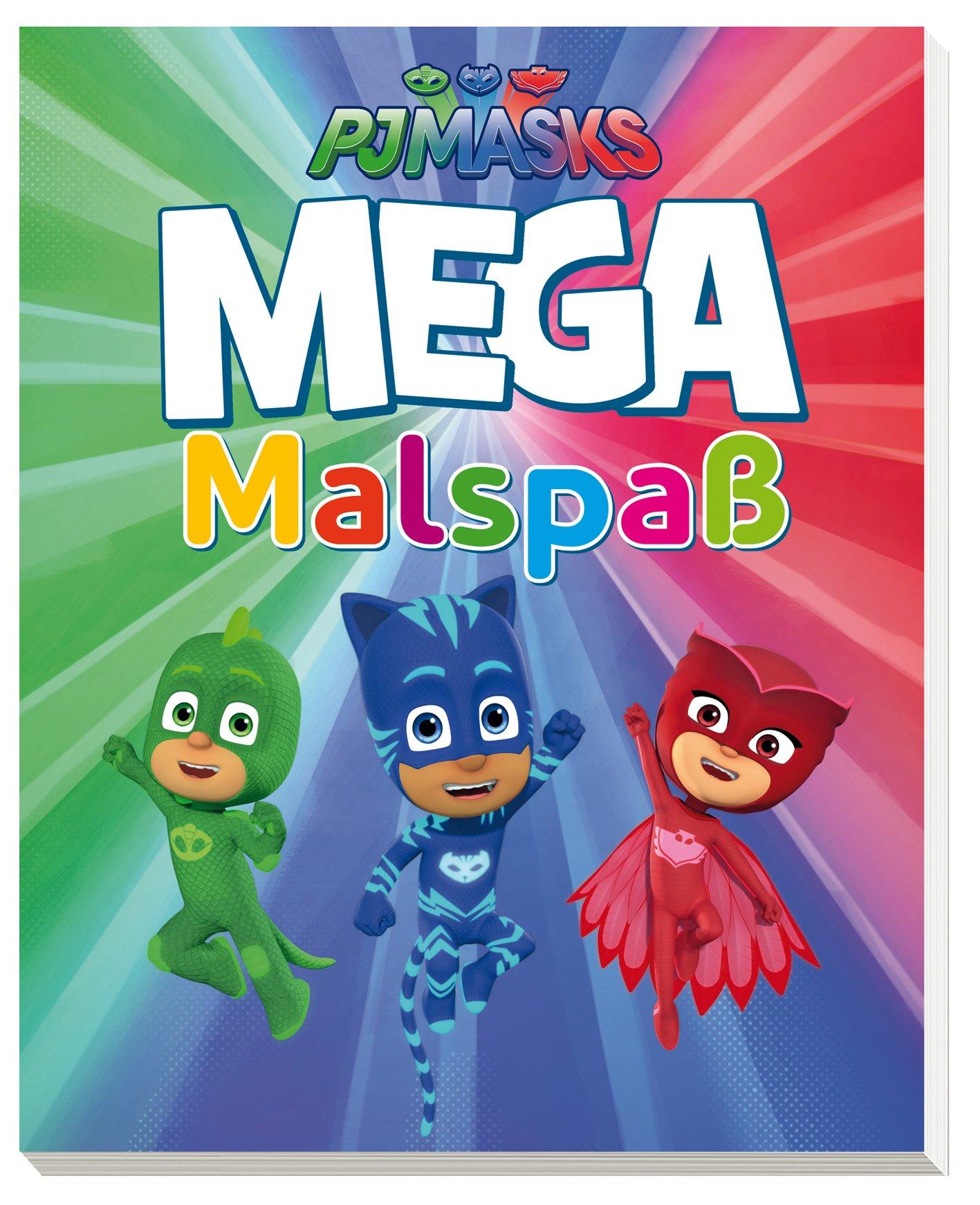 PJ Masks MEGA Malspaß: Amazon.es: Libros en idiomas extranjeros