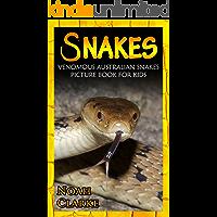 Snakes: Venomous Australian Snakes Picture Book for Kids