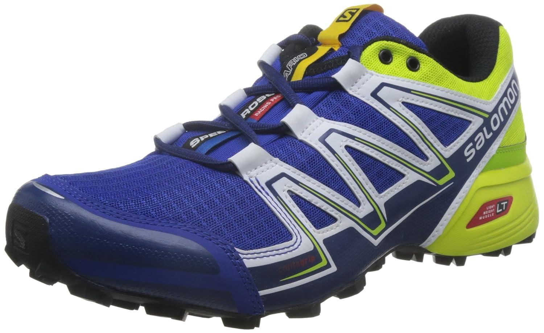 Salomon Speedcross Vario, Zapatillas de Trail Running para Hombre 42 2/3 EU|Azul (Surf The Web/Blue Depths/Lime Punch)