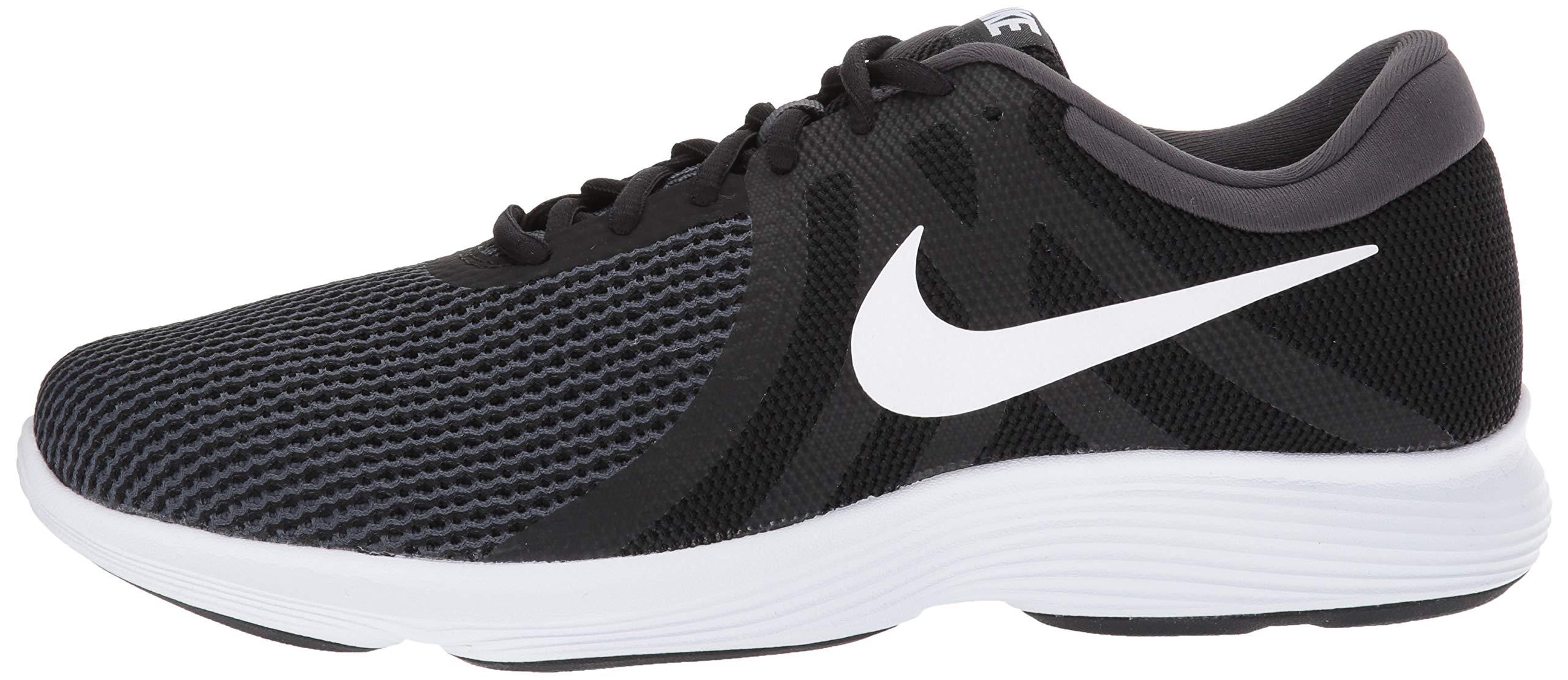 Nike Men's Revolution 4 Running Shoe Black/White - Anthracite 6.5 Wide US by Nike (Image #5)