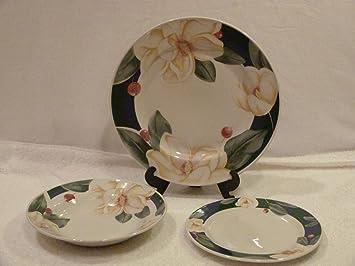 Savannah Grove 3 Piece Dinnerware Set by Savannah Grove & Amazon.com | Savannah Grove 3 Piece Dinnerware Set by Savannah Grove ...