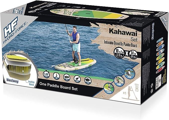 Bestway Kahawai 65308 - Tabla inflable de paddle suft con remo de ...