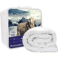 Australian Made Merino Wool Quilt/Doona/Duvet 700GSM (140x210cm Single)