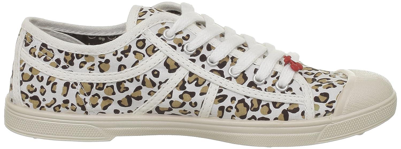 Le Temps des Cerises Basic 02, Damen Sneaker, Weiß (Zèbre White), 40 EU