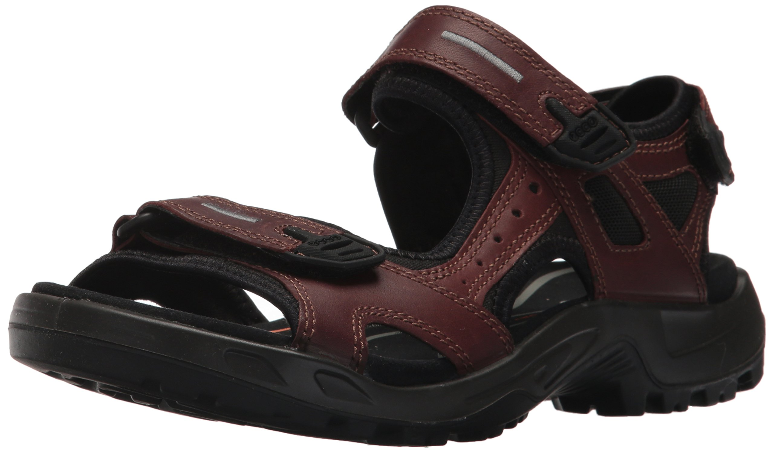 ECCO Men's Yucatan Lux Athletic Sandal, Brandy, 46 EU/12-12.5 M US by ECCO