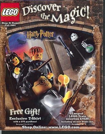 LEGO Shop At Home Catalog Fall 2001 Harry Potter Star Wars ++ at ...