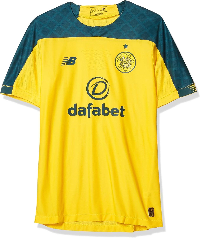 New Balance Men's Celtic Football Elite Short Sleeve Jersey