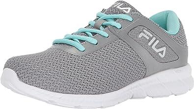 Fila Memory Skip - Zapatillas de Running para Mujer, Color Plateado, Talla 43.5 EU: Amazon.es: Zapatos y complementos