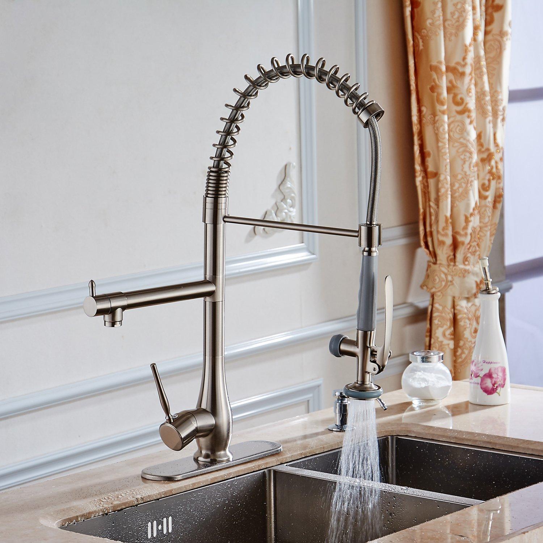 BWE Chrome Square 10 Inch Kitchen Sink Faucet Hole Cover Deck Plate Escutcheon