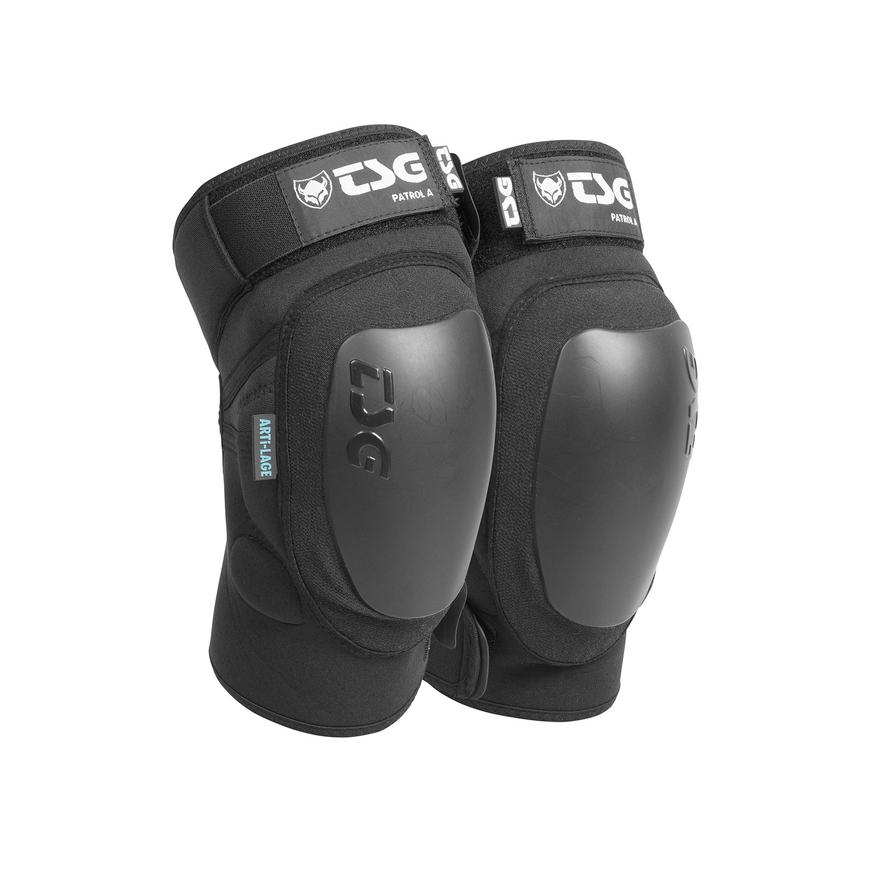 TSG - Kneeguard Patrol A Pads for Bicycle (black, S)