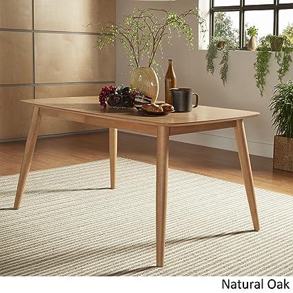 Amazoncom MIDCENTURY LIVING Norwegian Mid Century Danish Modern - Mid century oak dining table
