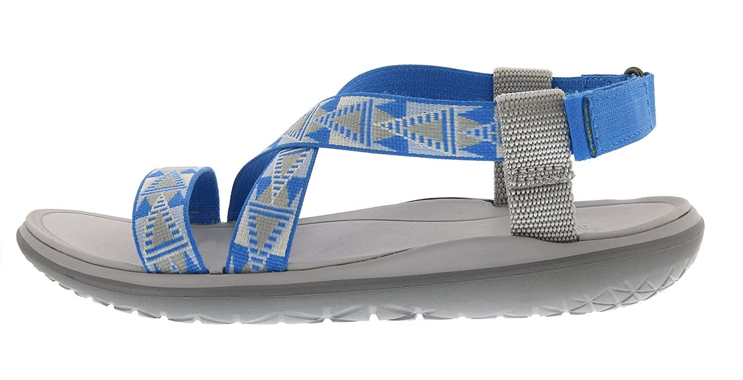 Teva Women's Terra-Float Livia Sandal B00ZFMADOG 5 B(M) US|Grey/Blue