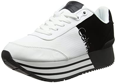 quality design 3ec9e 3bcdd Amazon.com | Calvin Klein Jeans Women's Carlita Nylon ...