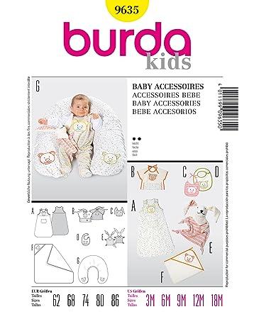 Burda Schnittmuster 9635 Baby Accessoires Gr. 62-86: Amazon.de ...