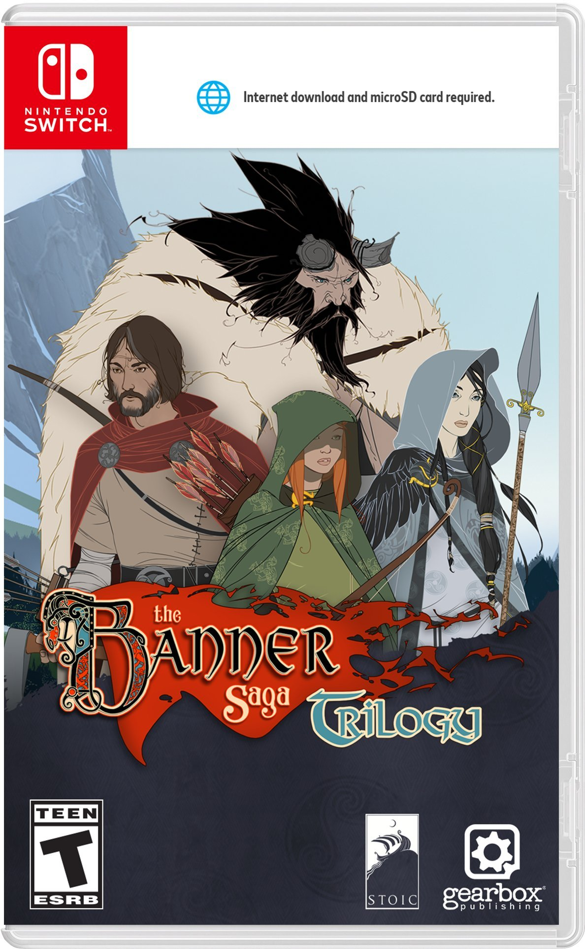 Banner Saga Trilogy - Nintendo Switch