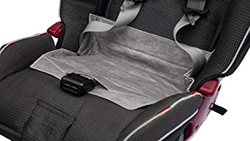 STREAM LINERS Disposable Childrens Car Seat Pee Pad Piddle Protector Gray 5 Pack