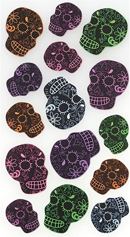 Sticko Skulls Stickers