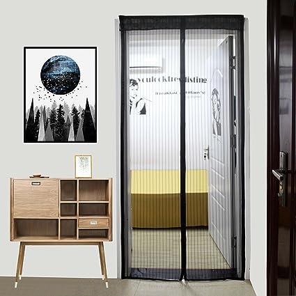 Ordinaire Magnetic Screen Door   With Heavy Duty Mesh Door Screen Curtain And Full  Frame Magic Screen