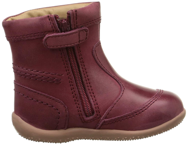 Kickers Bibi - Zapatos primeros pasos para niña Rojo Rouge (Rouge ...