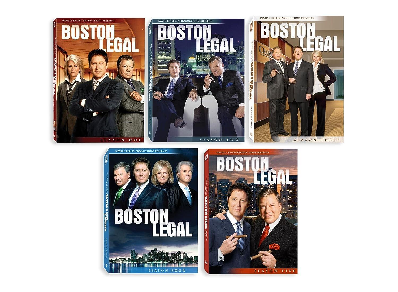 【特価】 Boston Legal B0027CSMY0 Season 1-5 1-5 Complete Season Collection B0027CSMY0, いかさば八戸 タケワWEBストア:4fa96377 --- kiddyfox.in