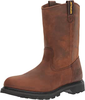 Amazon.com | Caterpillar Men's Revolver Pull-On Steel-Toe Boot | Boots