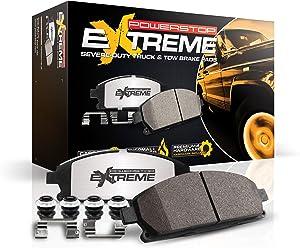 Power Stop Z36-2087, Z36 Truck & Tow Front Carbon-Fiber Ceramic Brake Pads
