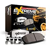 Power Stop Z36-2087, Z36 Truck & Tow Front Carbon-Fiber Ceramic Brake Pads