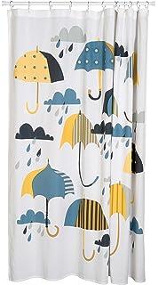Danica Studio Cotton Shower Curtain Umbrella Print
