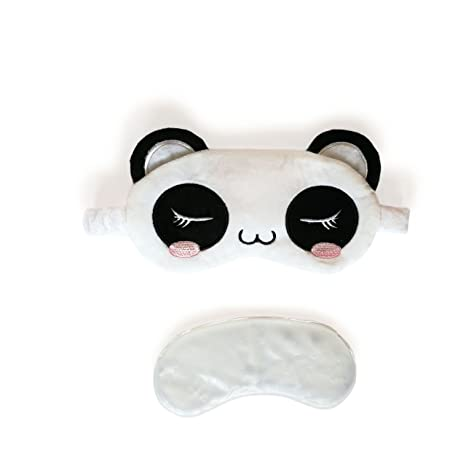 43429a4c16d 3D Cute Sleeping Panda Eye Mask with Reusable Gel Pad