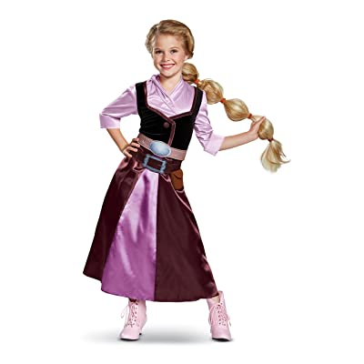 Tangled The Series Season 2 Classic Rapunzel Travel Outfit Costume for Toddlers: Toys & Games