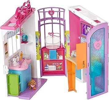 Barbie- Studio Veterinario, Multicolore, FBR36: Amazon.it: Giochi