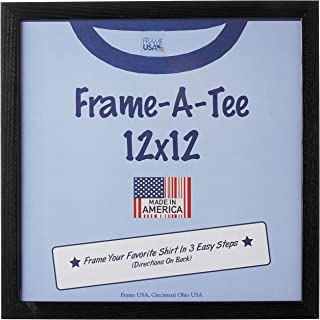 """product image for Frame USA """"Frame-A-Tee Series 12x12 T-Shirt Frame (Black) 