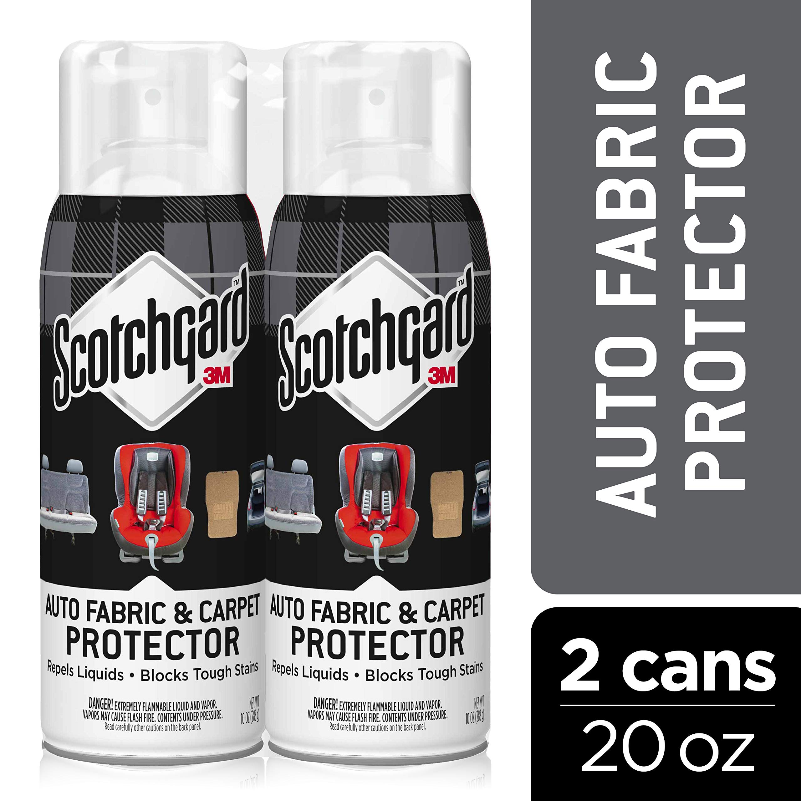 Scotchgard Auto Fabric & Carpet Protector 2 Cans, 20 Oz.
