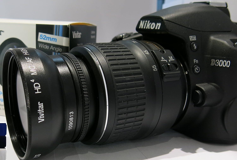 Lente Macro Gran Angular para Nikon D3400 D5600: Amazon.es ...