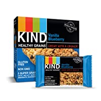 6 Pk KIND Healthy Grains Bars Vanilla Blueberry Gluten Free, 1.2 oz, 5 Count Deals