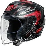 ショウエイ(SHOEI) バイクヘルメット ジェット J-FORCE 4 REFINADO (レフィナード) TC-1 (RED/BLACK) L (59cm) -