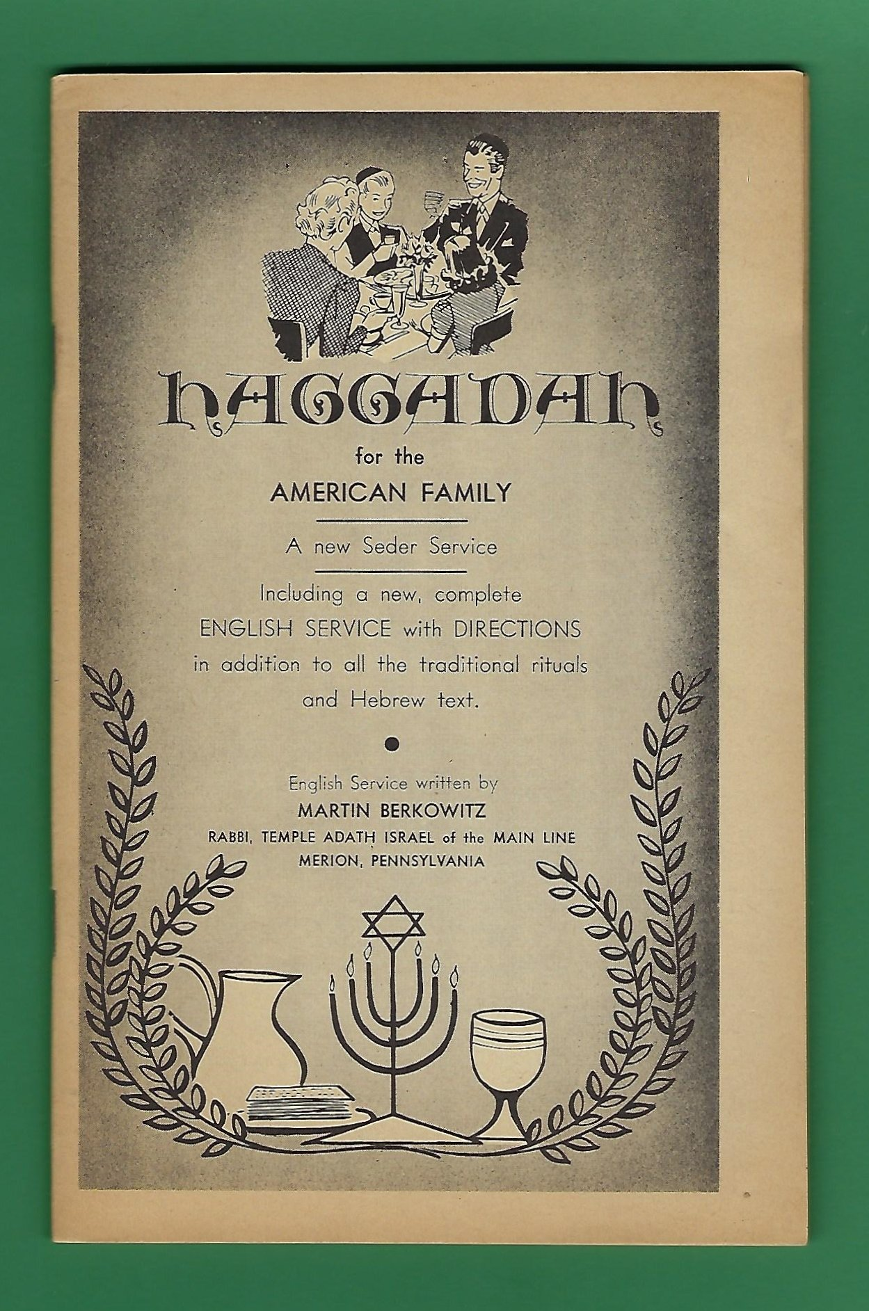 Haggadah for the American Family: A New Seder Service