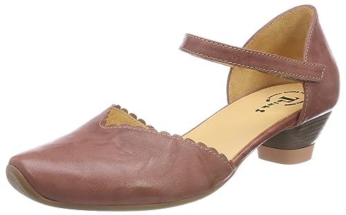 Womens Aida_282249 Ankle Strap Heels, Elfenbein (Ivory 95) Think