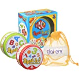 glokers Spot It Numbers and Shapes, Spot It Alphabet, And Spot It Junior Animals