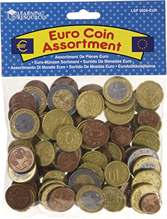 Oferta amazon: Learning Resources - Set monedas Euro (surtido: modelos aleatorios)