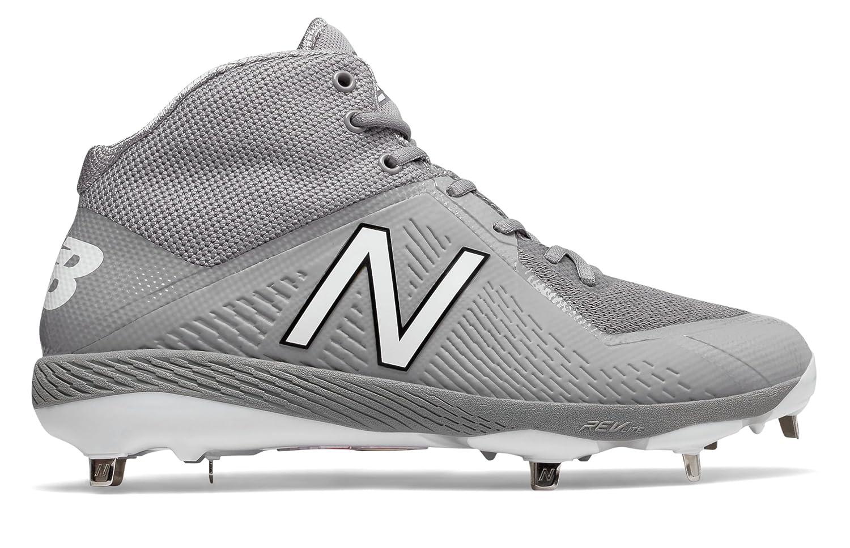 (ニューバランス) New Balance 靴シューズ メンズ野球 Mid-Cut 4040v4 Grey グレー US 8 (26cm) B075P1V43S