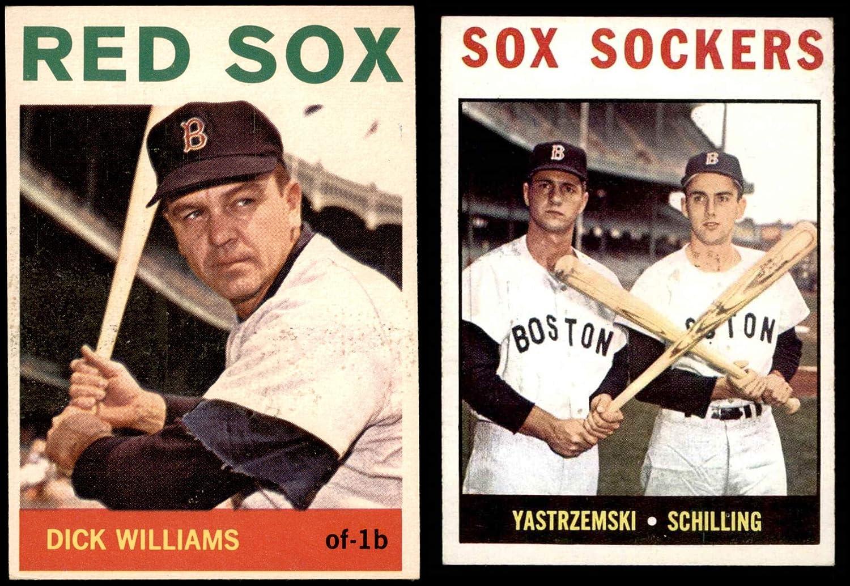 1964 Topps Boston Red Sox Near Team Set Boston Red Sox (Baseball Set) Dean's Cards 5 - EX Red Sox 81S36Ye6R5LSL1500_