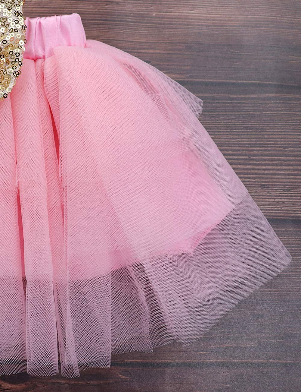 Tutu Dress 1st Birthday Outfit Set KANGKANG Baby Girls Shark Doo Doo Doo Romper
