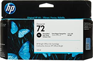 Hewlett-Packard Hp 72 (c9370a) Photo Black Original Ink Cartridge (130 Ml) - Design for The Environment (dfe), Taa