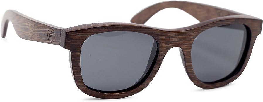 5b7d6f18f8a94 Amazon.com  Wood Sunglasses for Men and Women - Polarized Bamboo ...