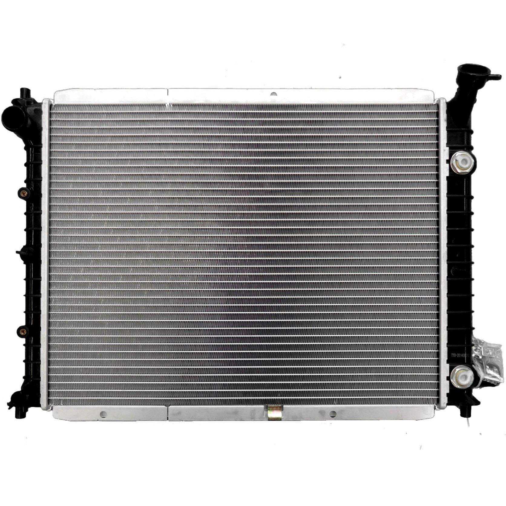 ECCPP 1273 Radiator fits for Ford Escort 1991-1999 Wagon 1.9L 2.0L 1992-2002 2.0L 1991-1996 Hatchback 2/4-Door 1.8L 1.9L