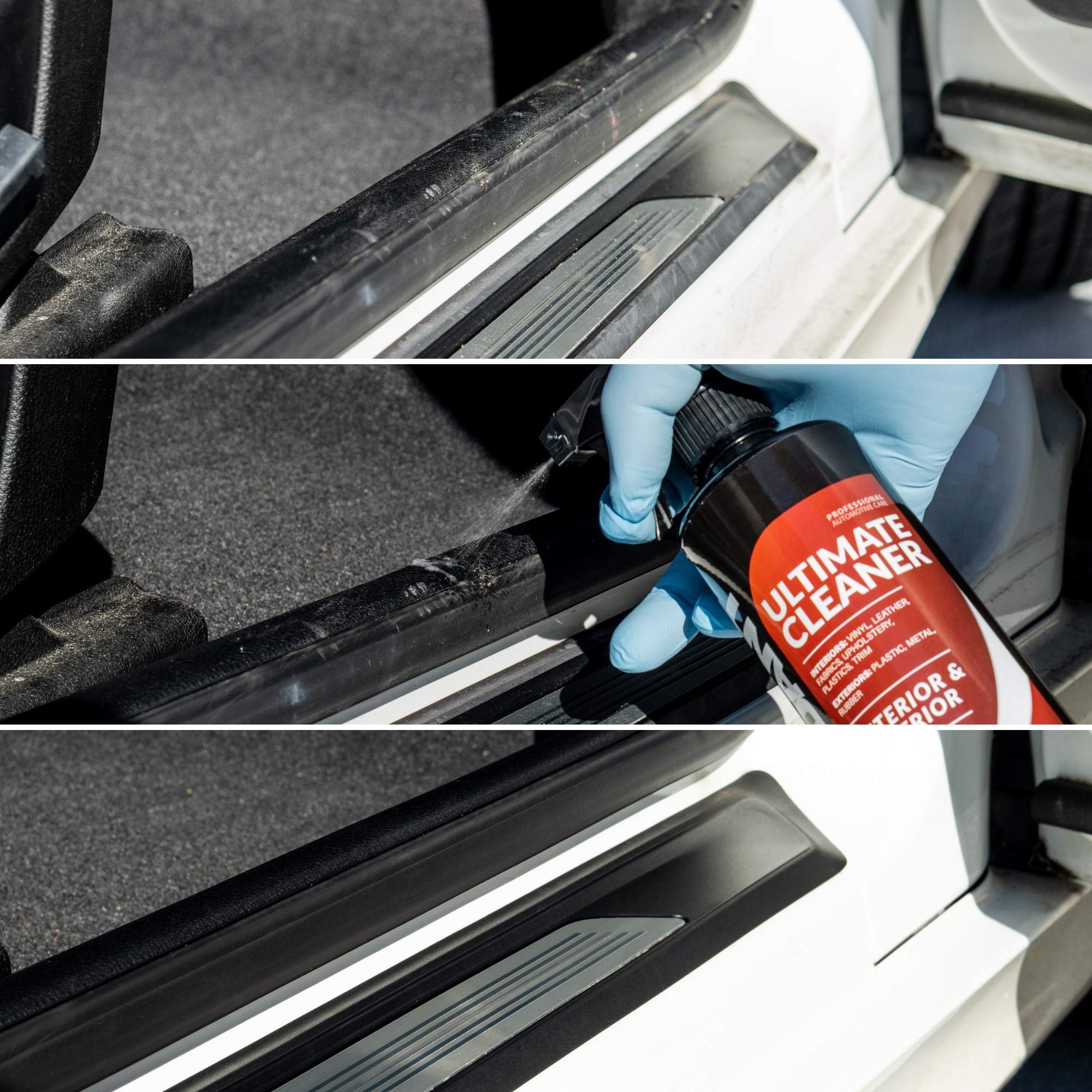 Carfidant Ultimate Car Interior Cleaner - Automotive Interior & Exterior Cleaner All Purpose Cleaner for Car Carpet Upholstery Leather Vinyl Cloth Plastic Seats Trim Engine Mats - Car Cleaning Kit by Carfidant (Image #4)