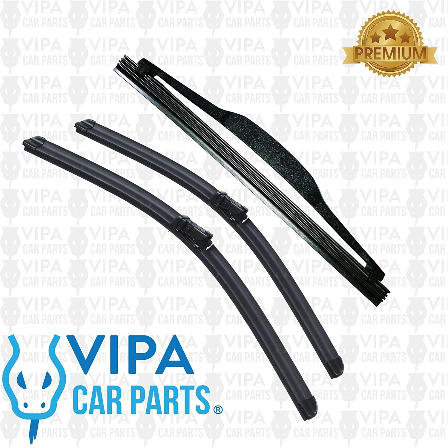 DS4 Hatchback Apr 2011 to Jul 2015 Rear Wiper Blade 1 x Blade
