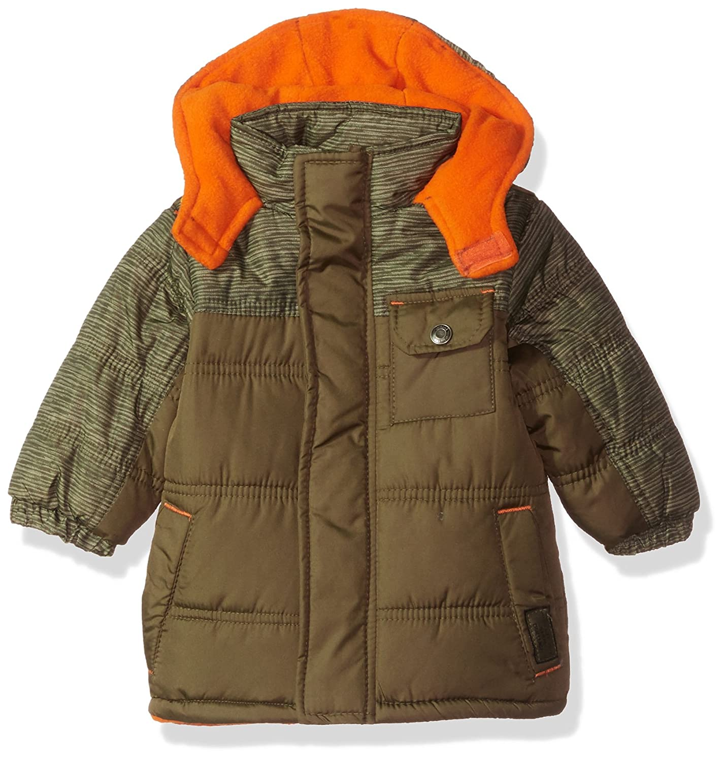iXtreme Baby Boys Inf Space Dye Print Colorblock Puffer 94309